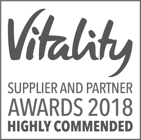 Vitality Supplier and Partner Awards 2018 logo