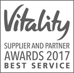 Vitality Supplier and Partner Awards 2017 logo